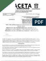 GACETA DE GOBIERNO
