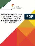Manual Para La Proteccion Contra Incendios en Cuartos Que Contienen Equipo Electronico