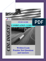 Combination Vehicle Study Guide