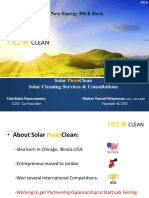 Solar PiezoClean New Energy