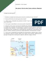 LISTA de EXERCÍCIOS - Oxidação de Ácidos Graxos Reg. Met. Ciclo Ureia Corpos Cetonicos