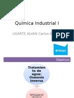 Métodos de Tratamiento de Agua Para Uso Industrial (Osmosis)