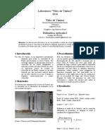 Laboratorio Hidraulica I Tubo Venturi