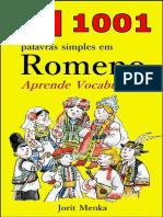 1001 Palavras Simples Em Romeno - Jorit Menka