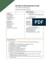 Evaluación Cif- Abner