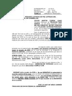 Absuelbo Traslado - Filiacion Extramatrimonial