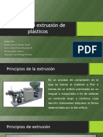 Proceso de Extrusión de Plásticos