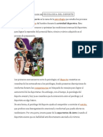Definición Depsicología Del Deporte