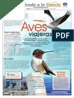 UNAMirada 515 Aves Viajeras