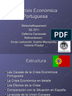 La Crisis Económica Portuguesa Ppp