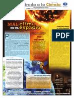 UNAMirada_521_Mal Clima en El Espacio