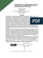 Transitorios Electromagneticos de Un Turbogenerador a Gas de 51,6mw Conectado a Una Red de Alta Tension de 230kv, Analisis Mediante Simulaciones Con Software