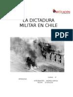 La Dictadura Militar en Chile Por Andres Garcia