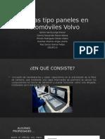 Baterías tipo paneles en Automóviles Volvo.pptx