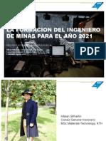 Minero Del Futuro, presentacion