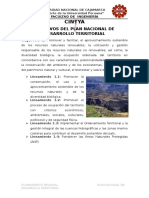 Objetivos Del Plan Nacional de Desarrollo Territorial