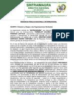 DENUNCIAAPUBLICA Por Pacto Colectivo