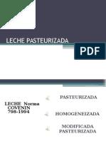 Leche Pasteurizada