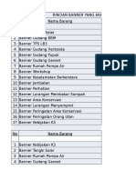 Daftar Banner All Estate Dan Mill