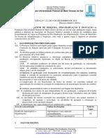 Processo Seletivo - Mestrado Em Administração 2016
