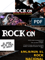 Texto Promocional – Rock´On Perú