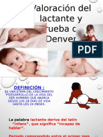 Valoracion del lactante y prub. Denver.pptx