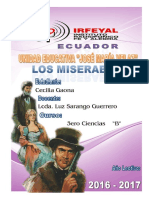 Obra Los Miserables