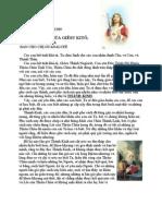 Thông Điệp # 7 do Chúa Giêsu ban qua chị Guadalupe
