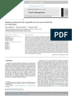 Articula Planta Piloto de Biodisel