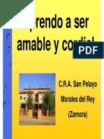 Morales Del Rey.ser Amable y Cordial