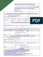 Formulario SAT 0362