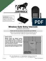 FM136 Mighty Mule Wireless Intercom
