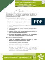 Actividad Unidad 4. Tablas din�micas y macros de Microsoft Excel 2010
