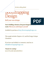 Boostrapping Design Sample