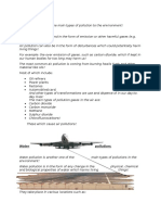 science pollution assesment task