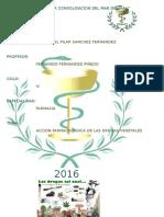 Accion Farmacologica de Las Drogas Vegetlaes