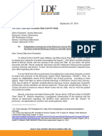 NAACP LDF Letter to Baltimore County Executive Kevin Kamenetz