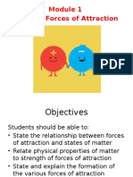 Module 1 - Topic 2 Lecture 1(Forces of Attraction)