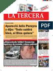Diario La Tercera 22.09.2016