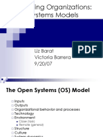 Open Systems Presentation 9-20-07