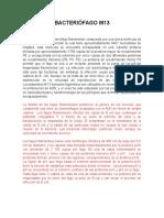 BACTERIÓFAGO M13