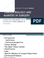 Tumour Biology & Markers in Surgery