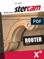 manual mastercam x7 machine tool line geometry rh scribd com Netgear Wireless Router Manual Router Tool