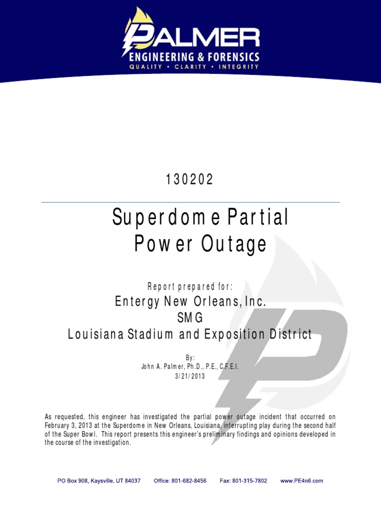 Superbowl outage 130202_Report pdf | Relay | Fuse (Electrical)
