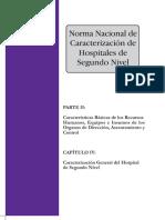 normas hospitalaria boliviana