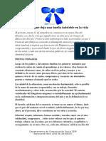 Carta del Consejo de Educación Inicial y Primaria por el Día del Maestro