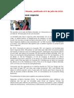 articulos VENEZUELA EN EL COMERCIO INTERNACIONAL