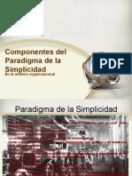 Paradigma de la simplicidad