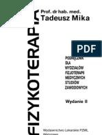 Fizykoterapia - T. Mika