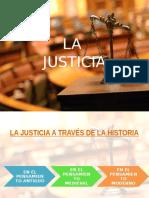 Exposicion . La Justicia
